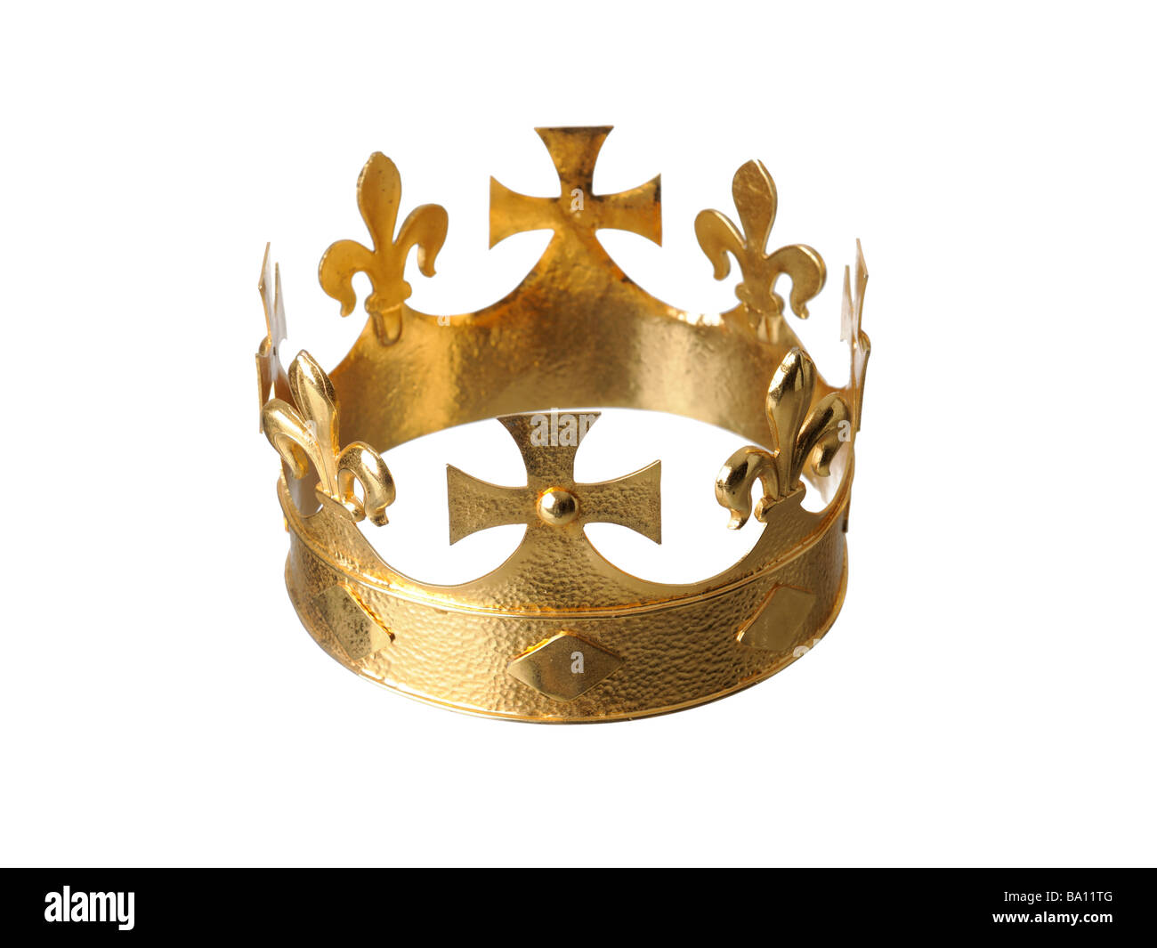 Golden Crown - Stock Image