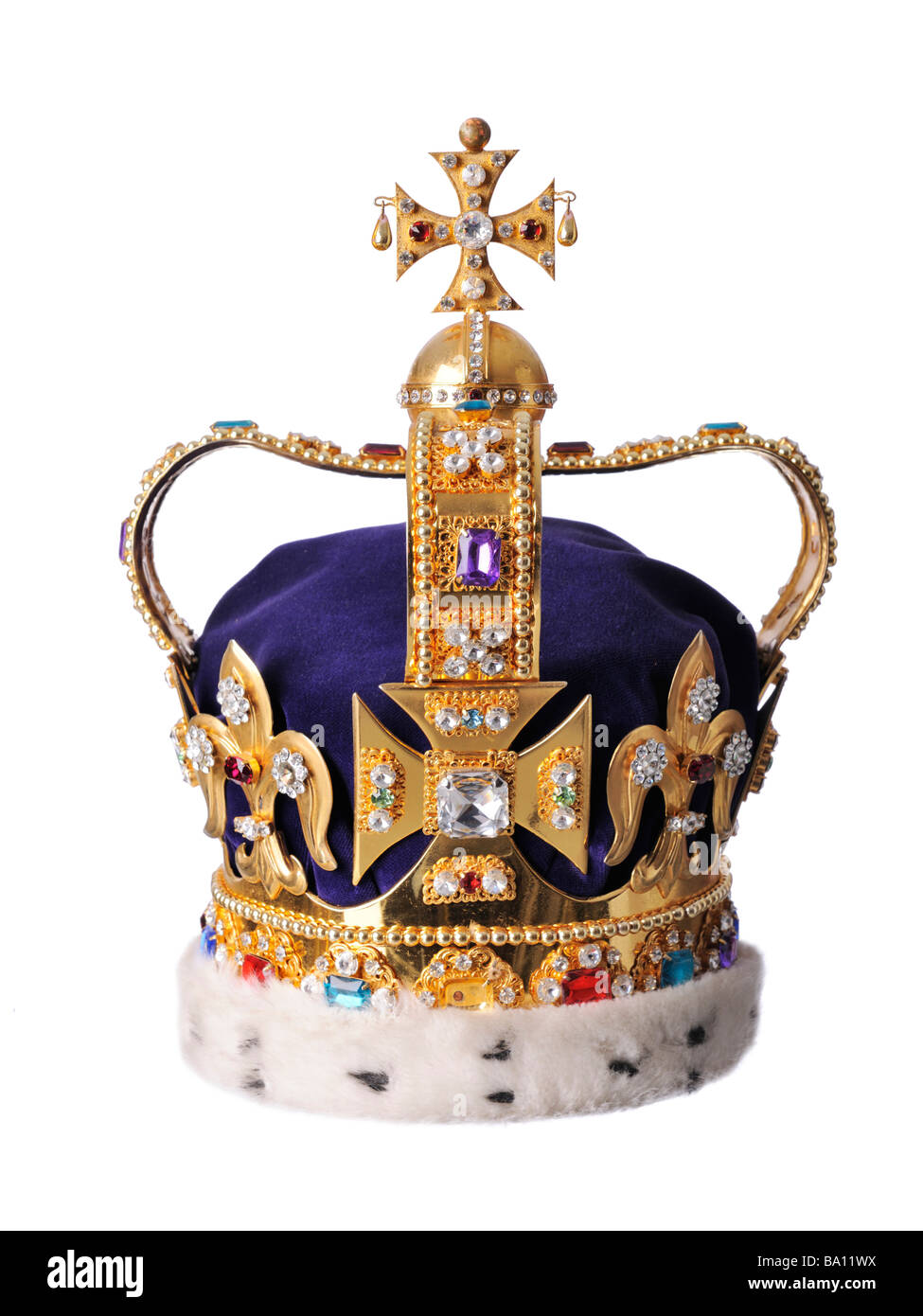 King's Royal Crown - Stock Image