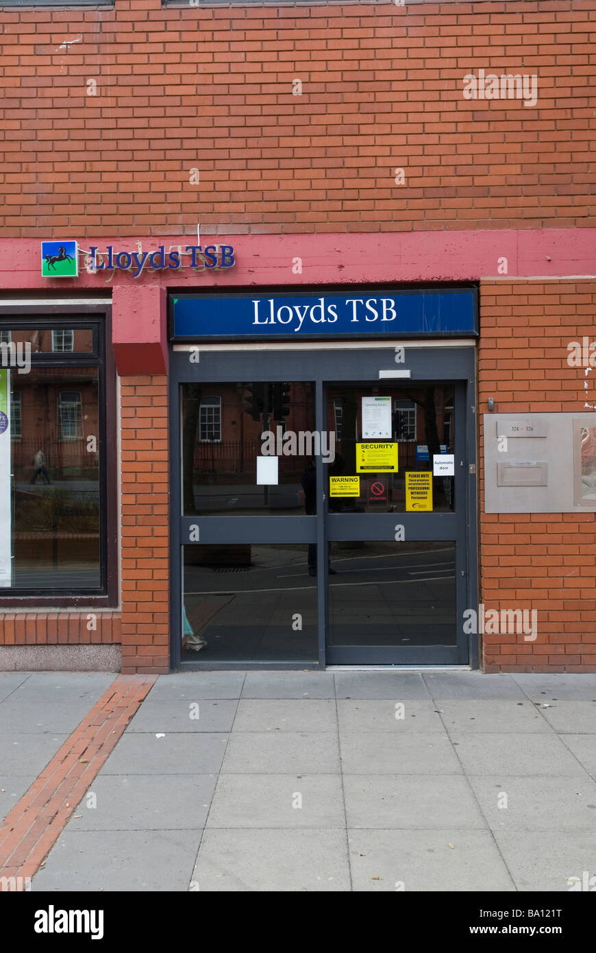 Lloyds TSB Bank in Manchester City Centre UK - Stock Image