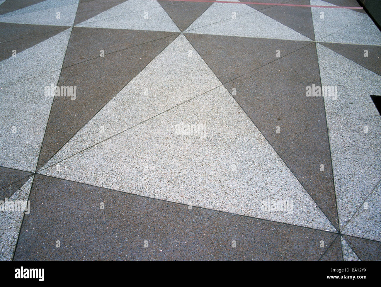 triangle tile terrazo floor geometry pattern math repetition shape ...