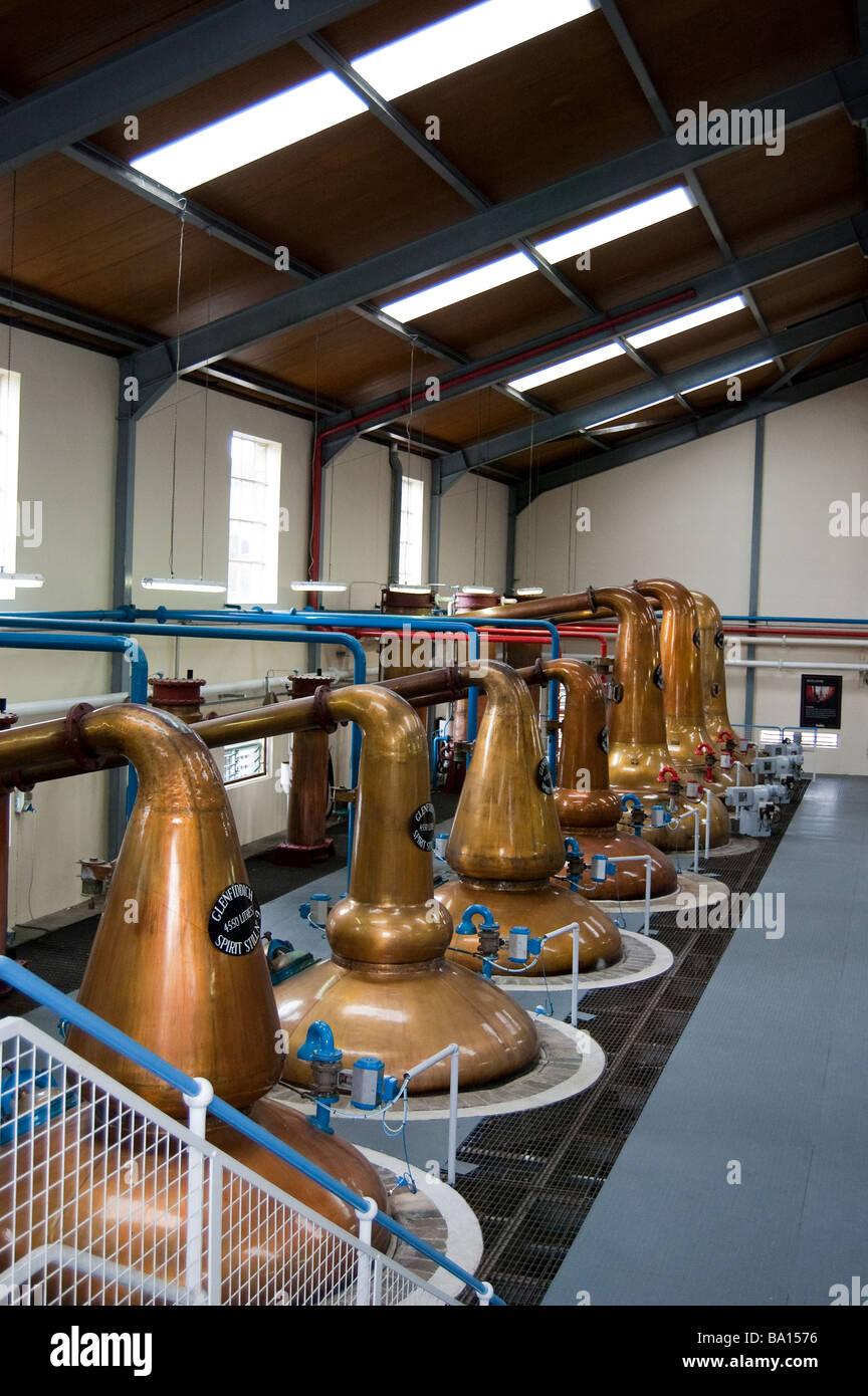 Whisky Stills - Stock Image
