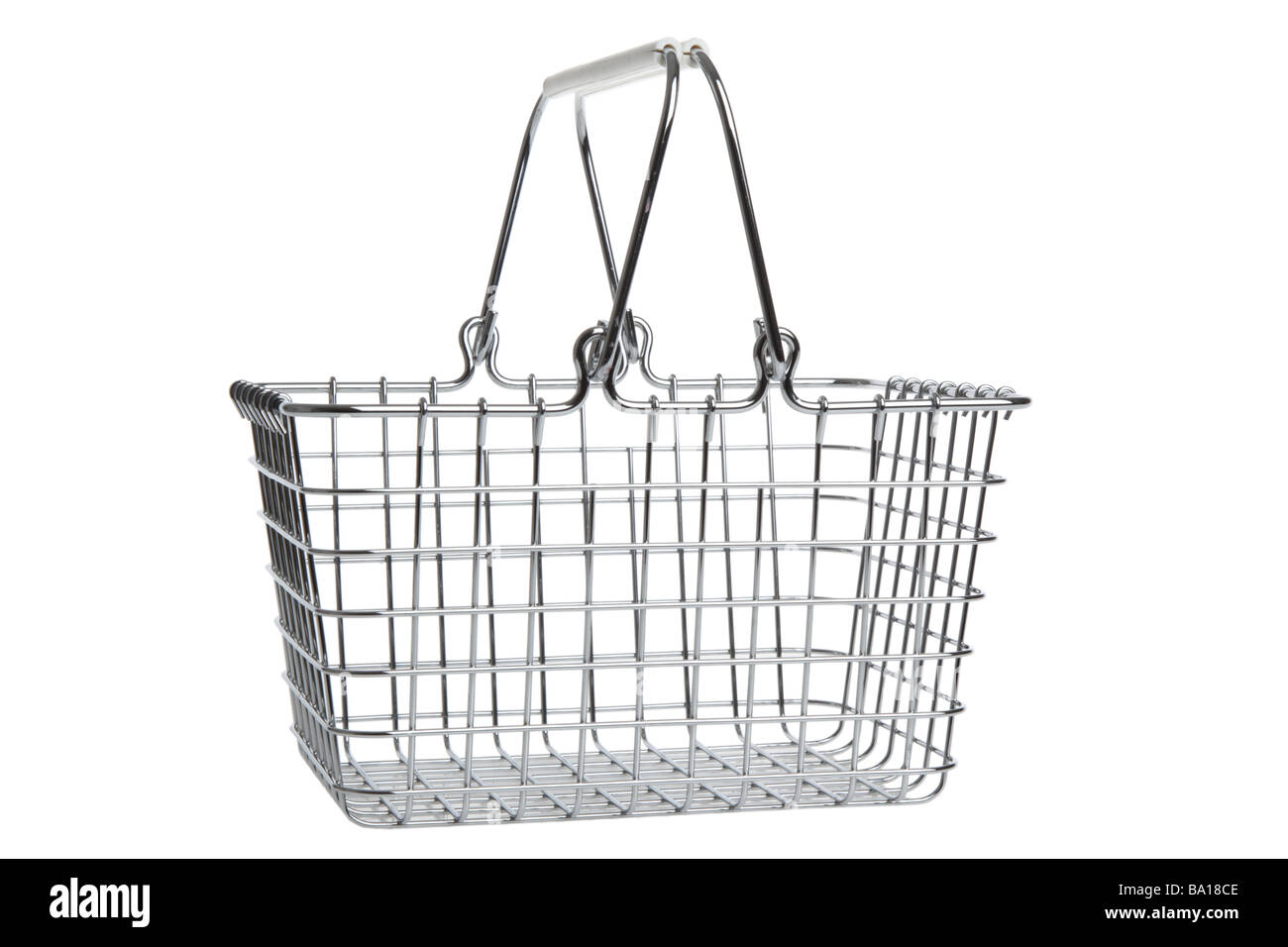 Basket Cut Out Stock Images & Pictures - Alamy