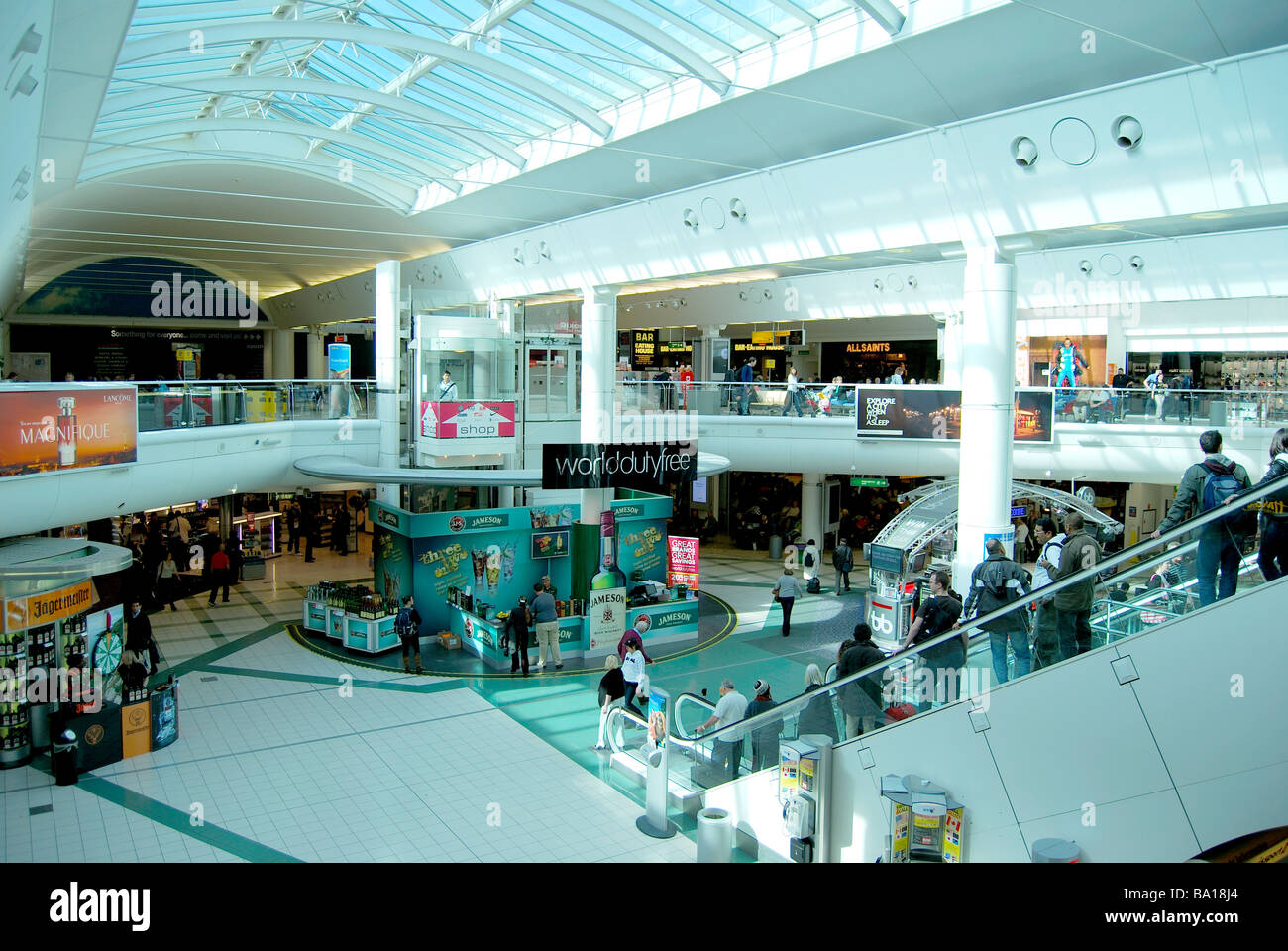 1838276ef Departure lounge, South Terminal, Gatwick Airport, Crawley, West Sussex,  England,