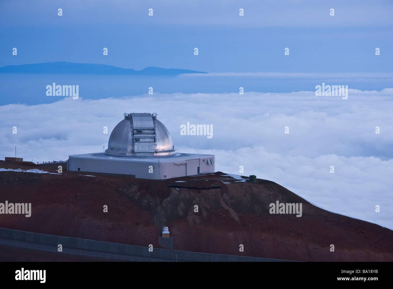 NASA Infrared Telescope Facility - Mauna Kea, Big Island, Hawaii, USA - Stock Image