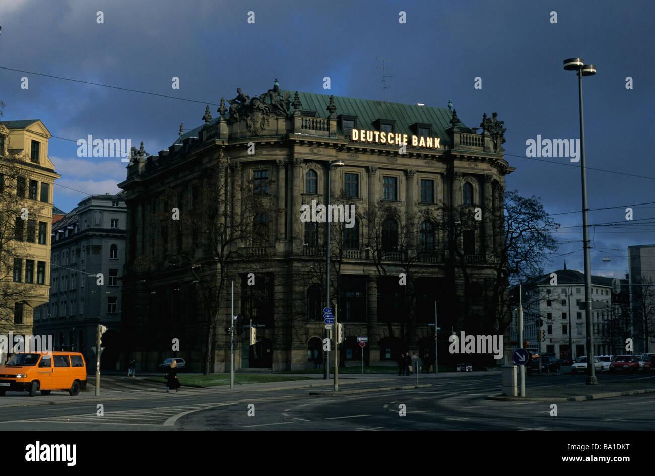 Deutsche Bank Munich Branches