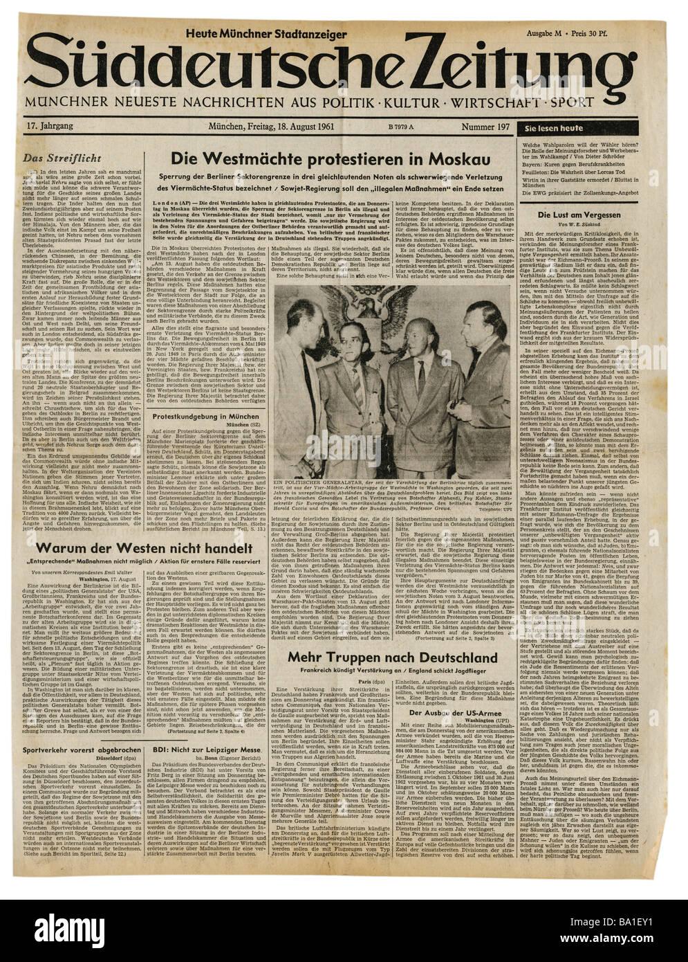 Suddeutsche zeitung munchen bekanntschaften