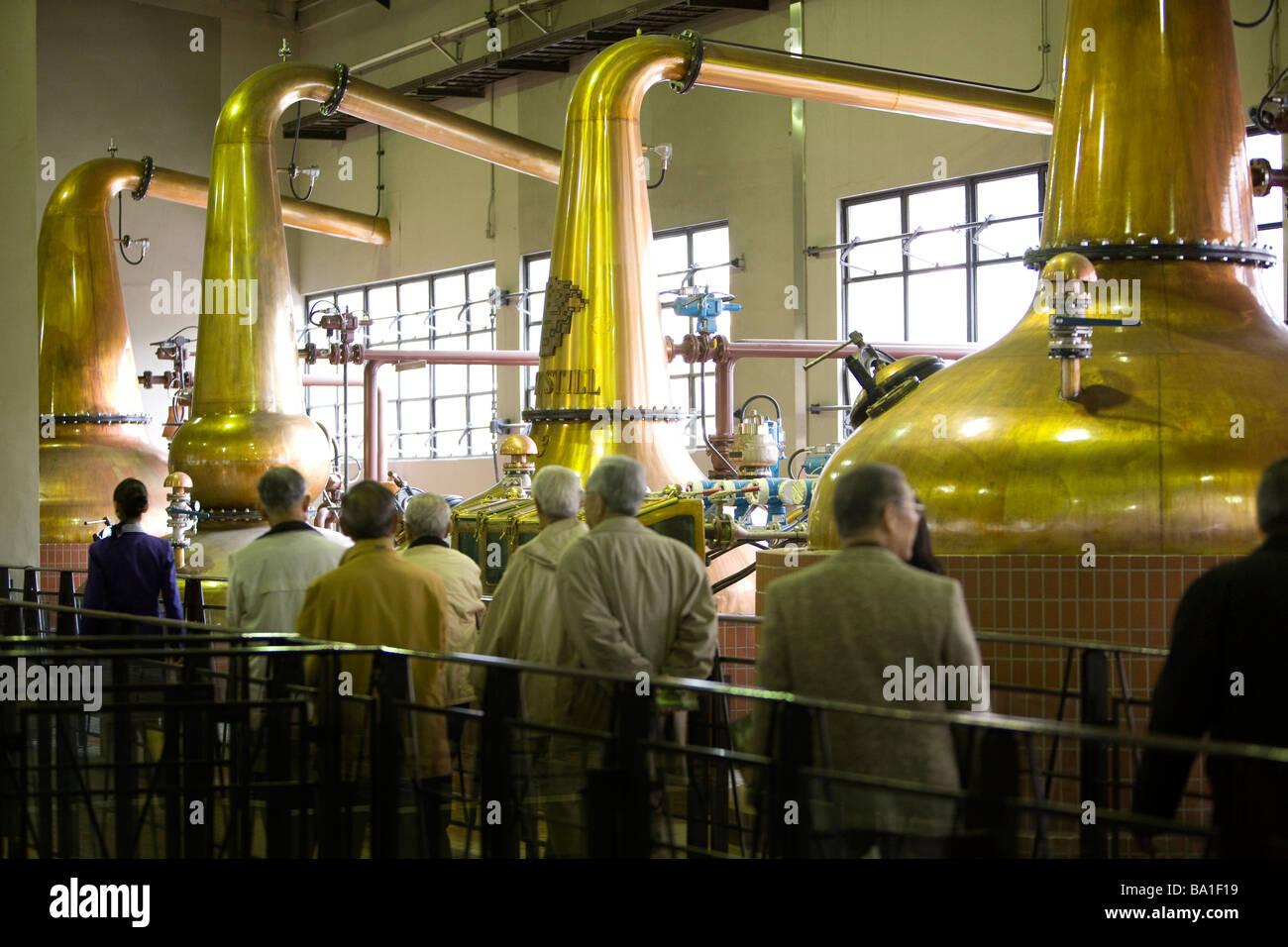 Suntory Yamazaki distillery Yamazaki Japan Friday 3rd April 2009 - Stock Image