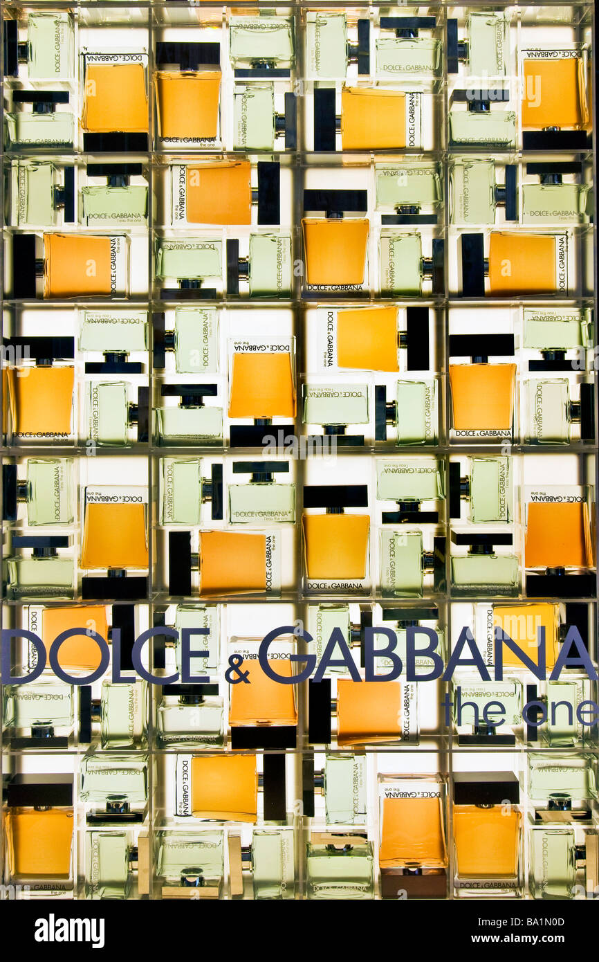Dolce and Gabbana - Stock Image