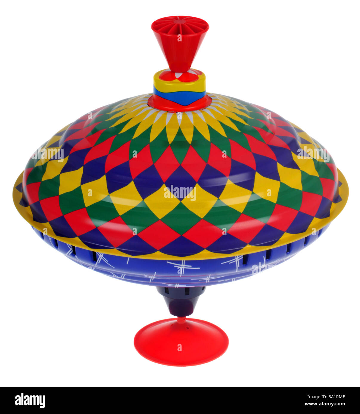 """Spinning Top"" toy - Stock Image"