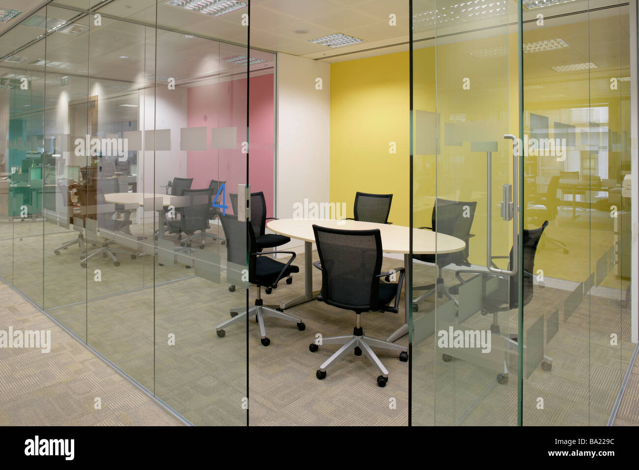 Meeting Room In Modern Office   Stock Image