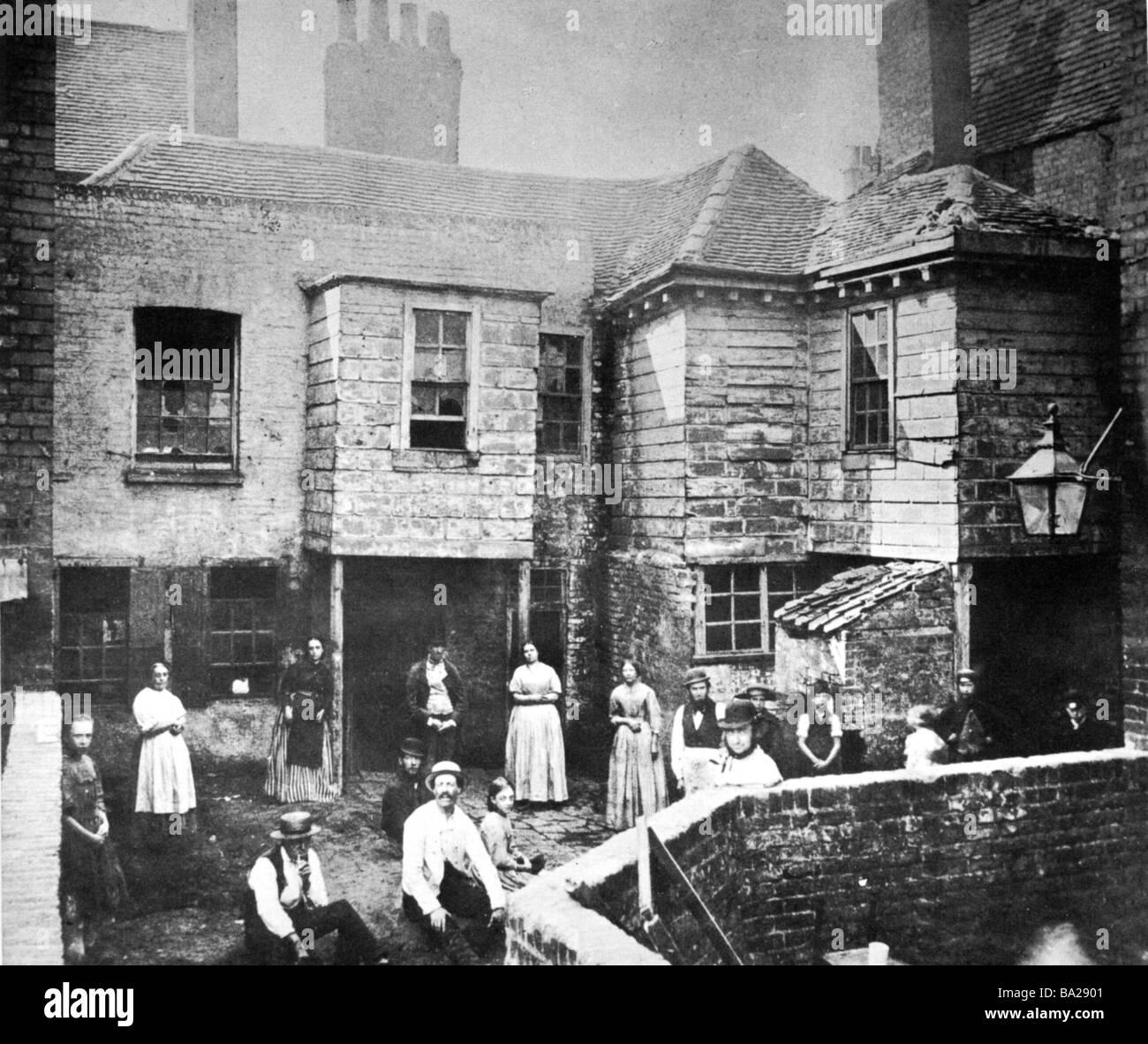 Street Housing: Market Street, Kensington, London Late