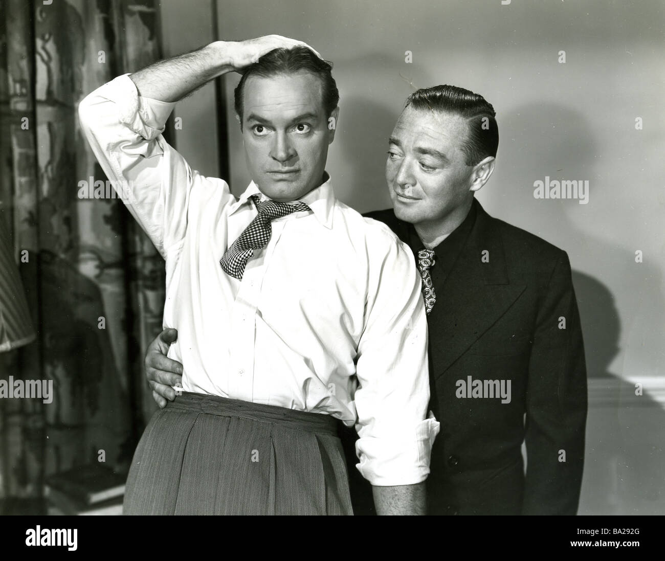 MY FAVOURITE BRUNETTE 1947 Paramount film with Bob Hope and Peter Lorre - Stock Image
