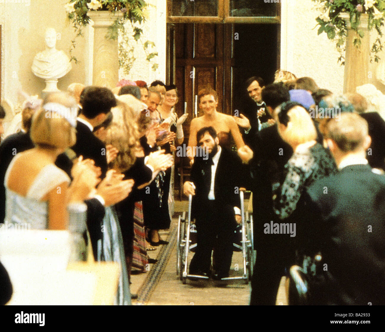 MY LEFT FOOT 1989 Palace film with Daniel Day-Lewis - Stock Image