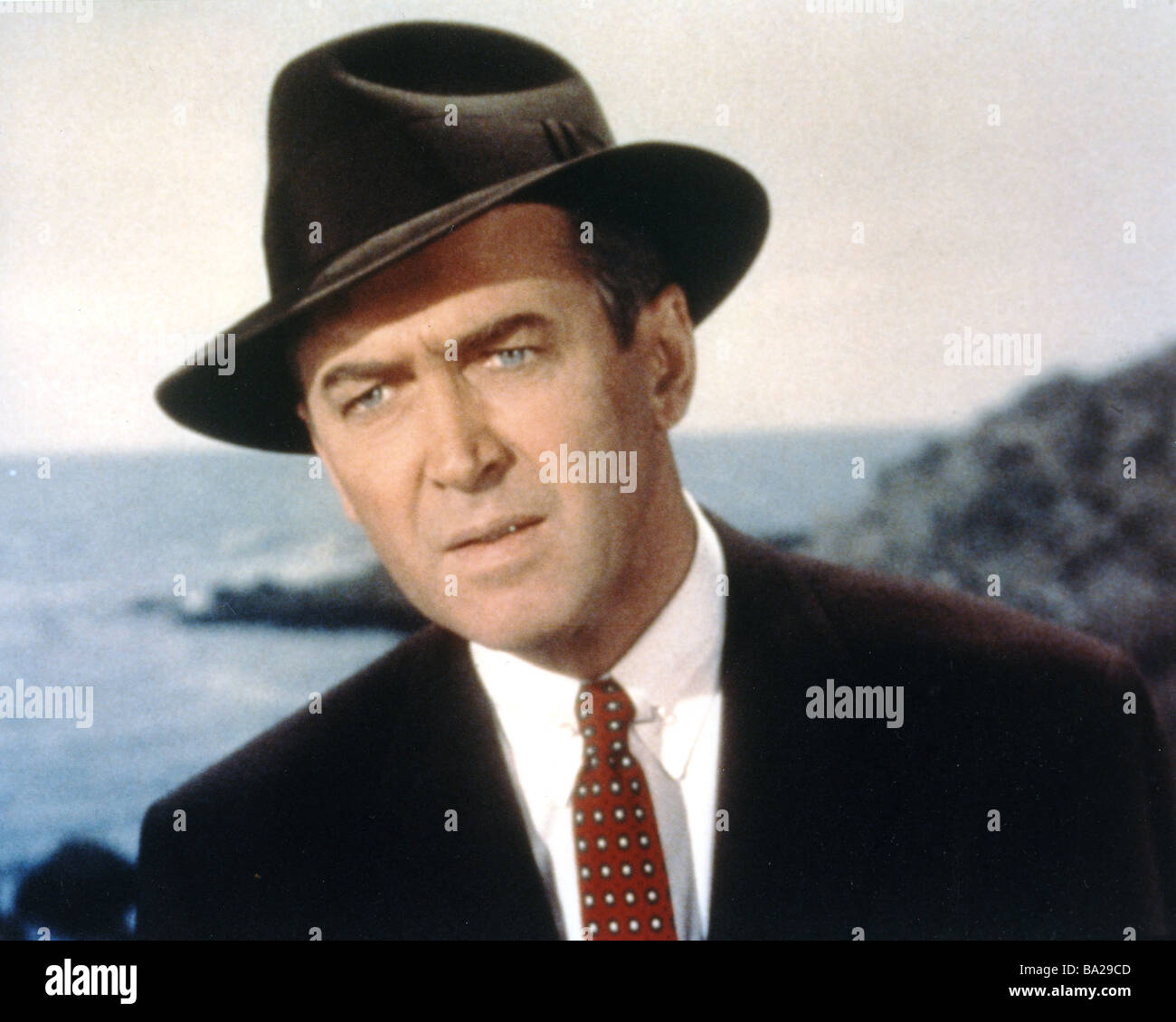 VERTIGO 1958 Paramount film with James Stewart - Stock Image