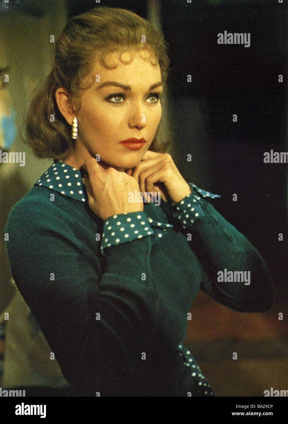VERTIGO 1958 Paramount film with  Barbara Bel Geddes - Stock Image