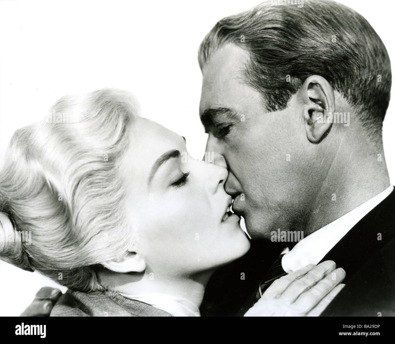 VERTIGO 1958 Paramount film with James Stewart and Kim Novak - Stock Image