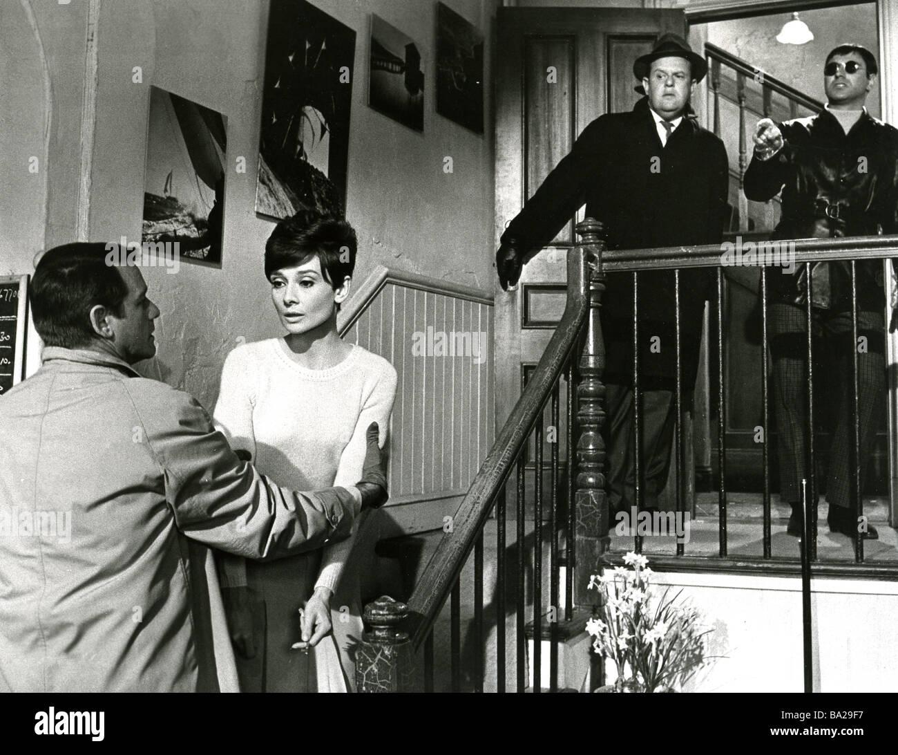WAIT UNTIL DARK 1967 Warner Seven Arts film with Audrey Hepburn - Stock Image
