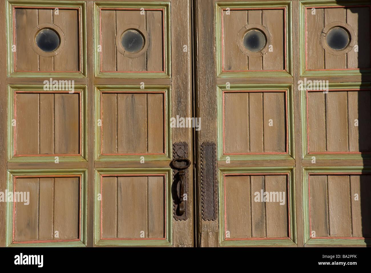 Santa Barbara Mission Front Door