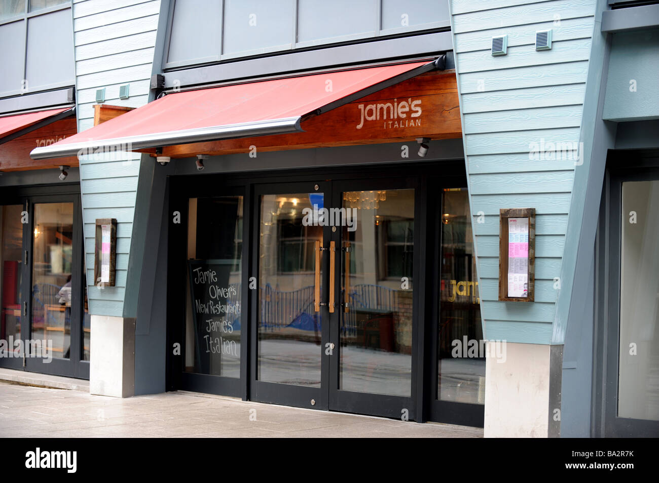 Jamie oliver's new italian restaurant in brighton - Stock Image
