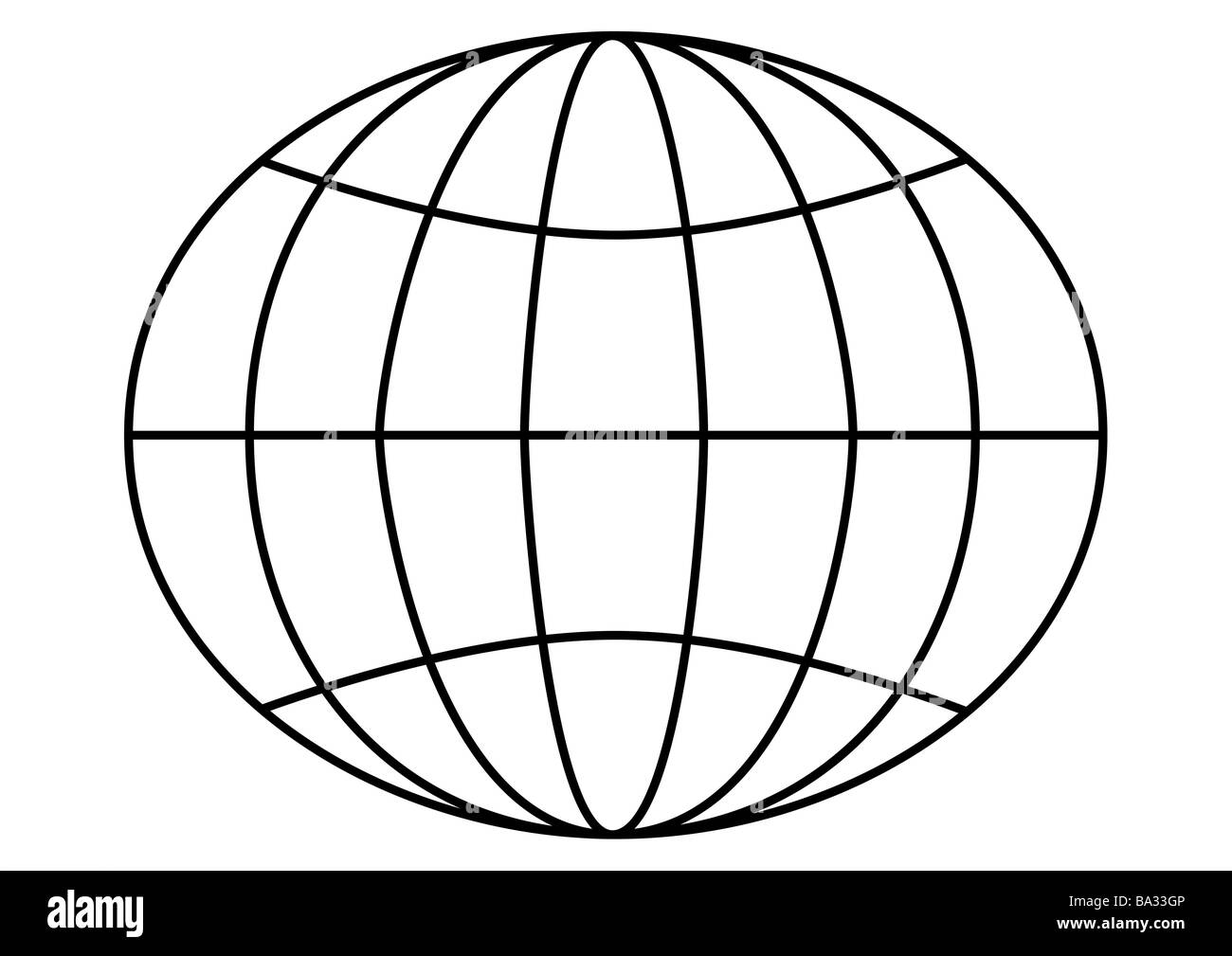 Latitude lines black and white stock photos images alamy earth representation degrees of latitude longitudes graphics lines planet world globe globe globe division meridians ccuart Choice Image