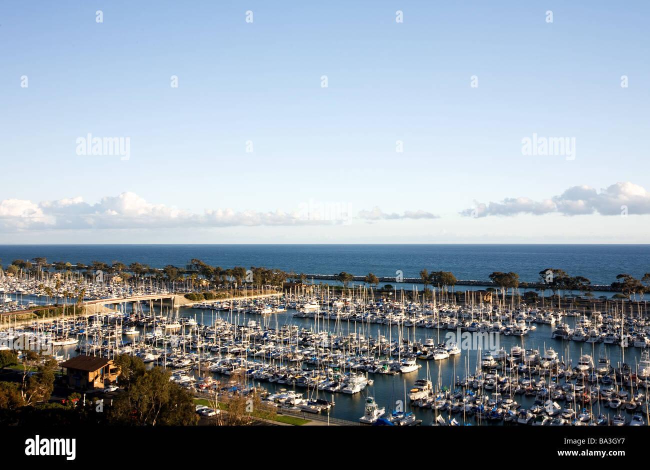 Dana Point Harbor CA USA - Stock Image