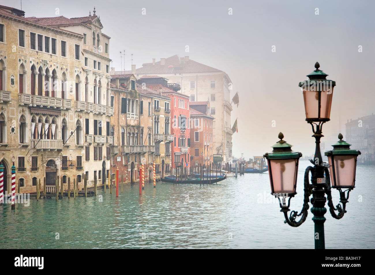 View of Canal Grande. Venice, Italy. - Stock Image