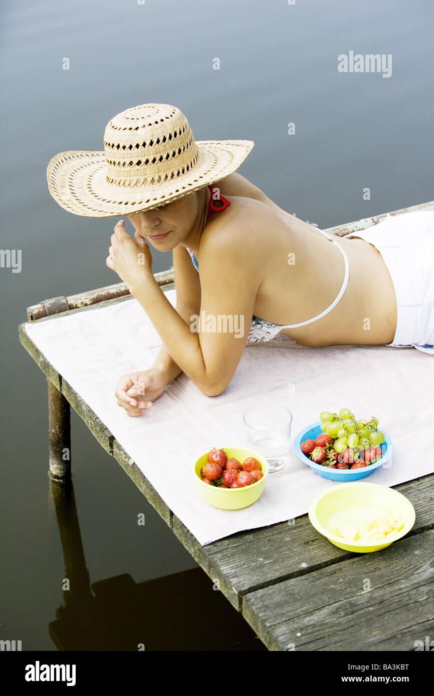With Asian women bikini bridge sorry, that