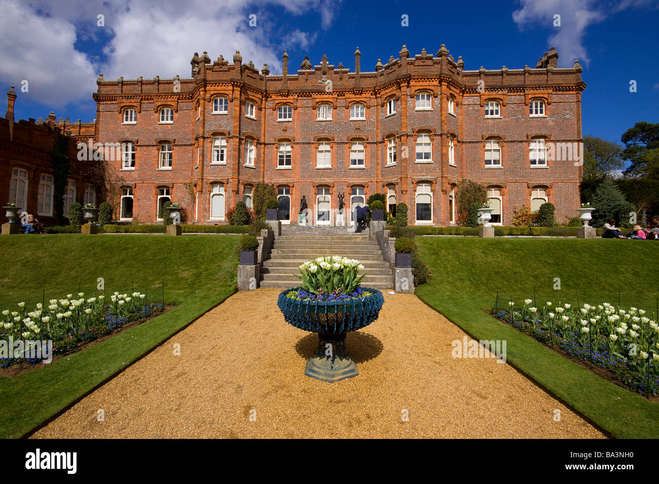 Hughendon Manor buckinghamshire chilterns - Stock Image