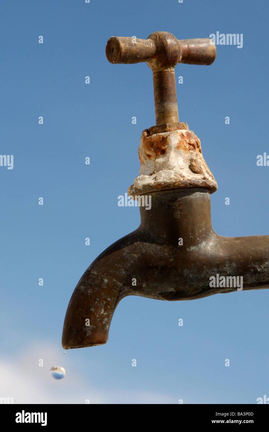 Water crisis - Stock Image