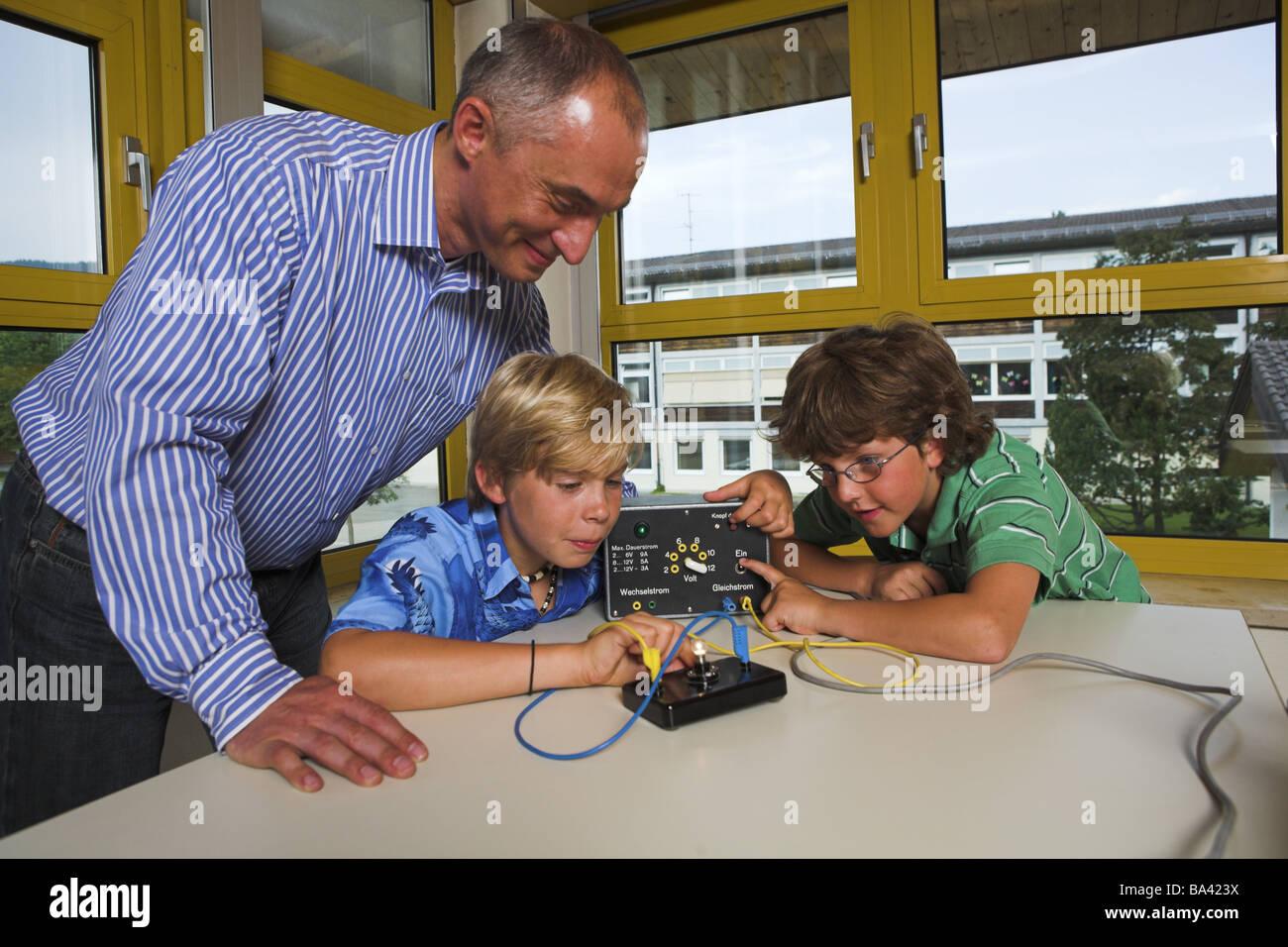 School classrooms instruction physics teachers students