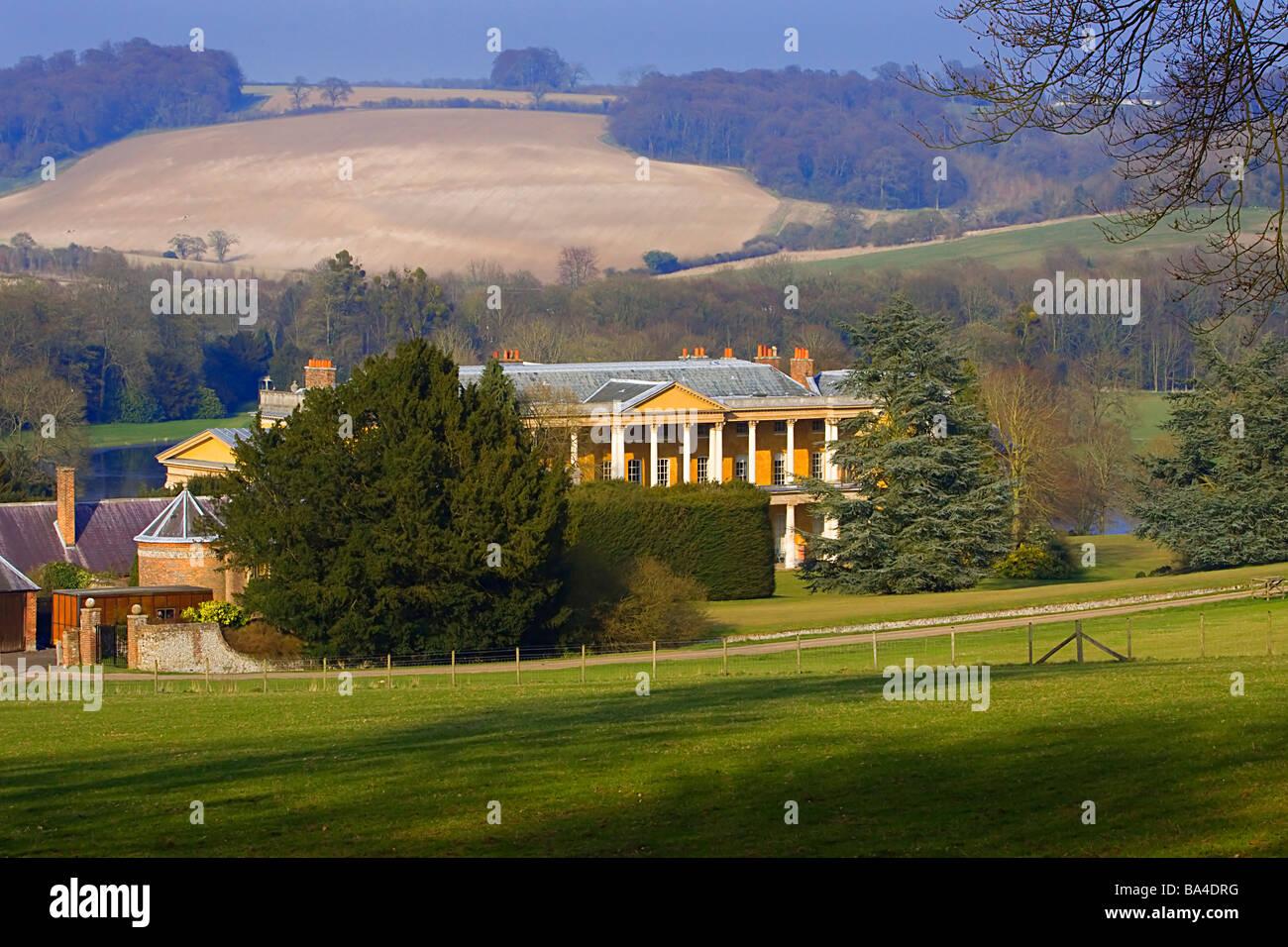 West Wycombe buckinghamshire chilterns Stock Photo