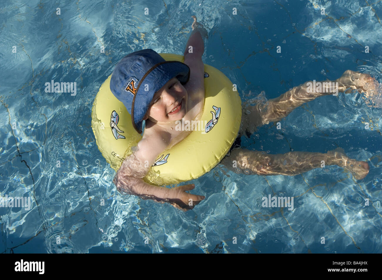 Swimming Tires Stock Photos Swimming Tires Stock Images Alamy