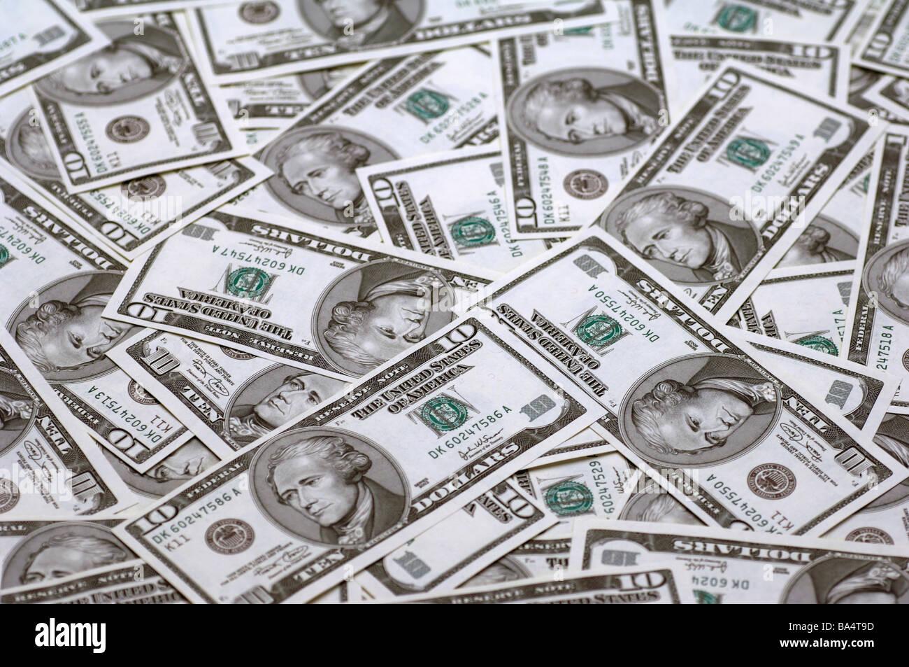 American Dollars - Stock Image