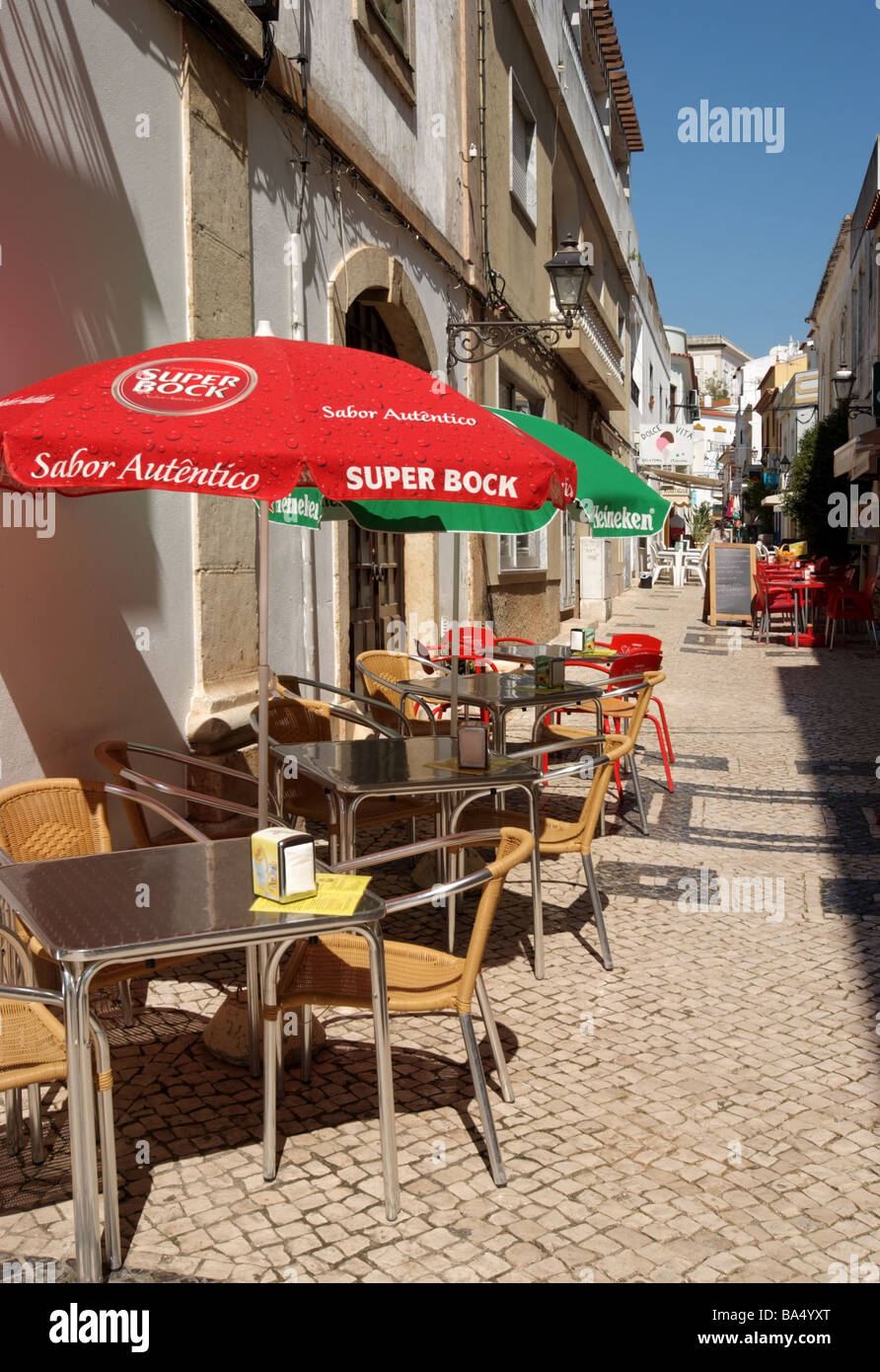 SILVES ON THE ALGARVE IN PORTUGAL. EUROPE Stock Photo