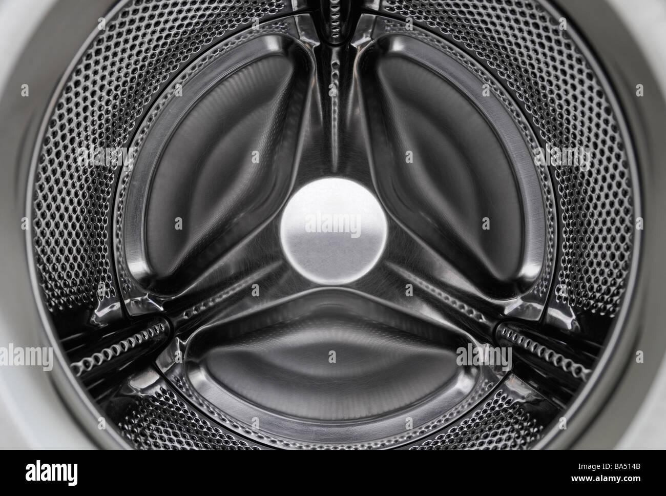 Washing Machine Inside - Stock Image