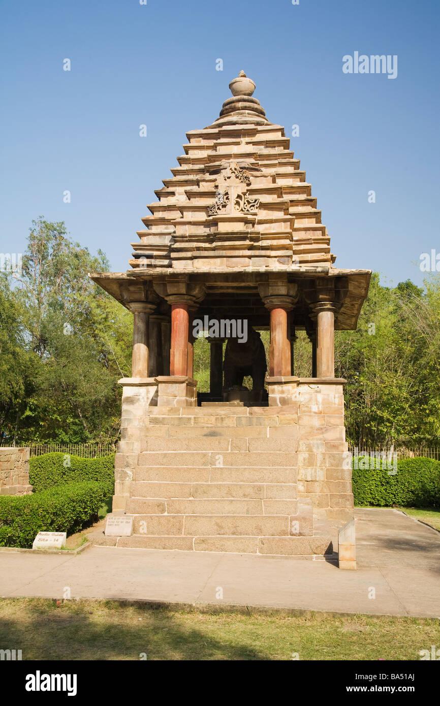 Varaha Temple 900-925 AD Khajuraho Unesco World Heritage Site Madhya Pradesh Northern India Asia - Stock Image