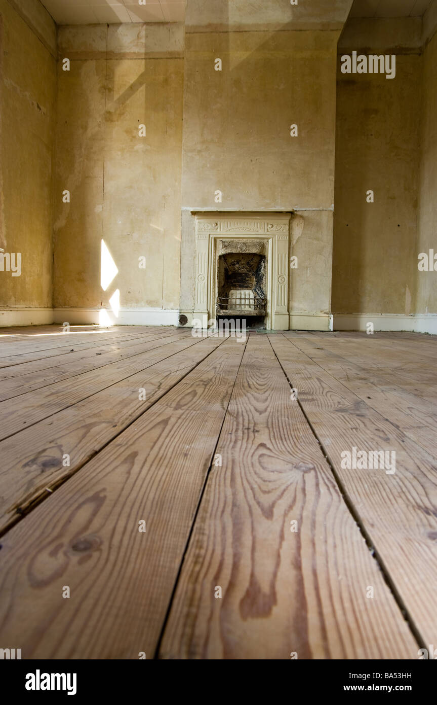 A renovation project in a Victorian house - Stock Image