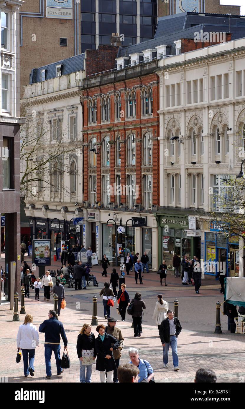New Street, Birmingham, UK - Stock Image
