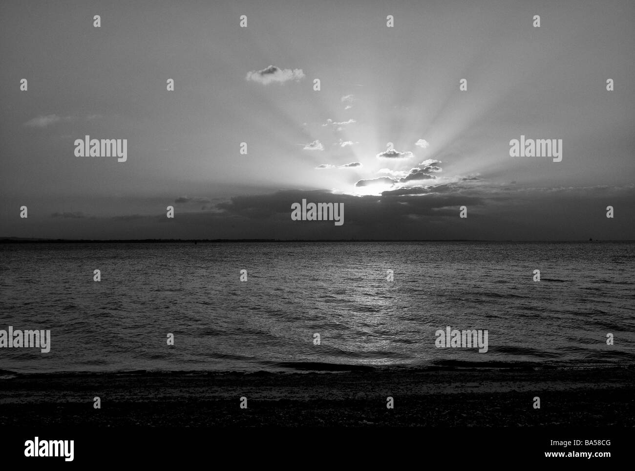 Rising Sun - Stock Image