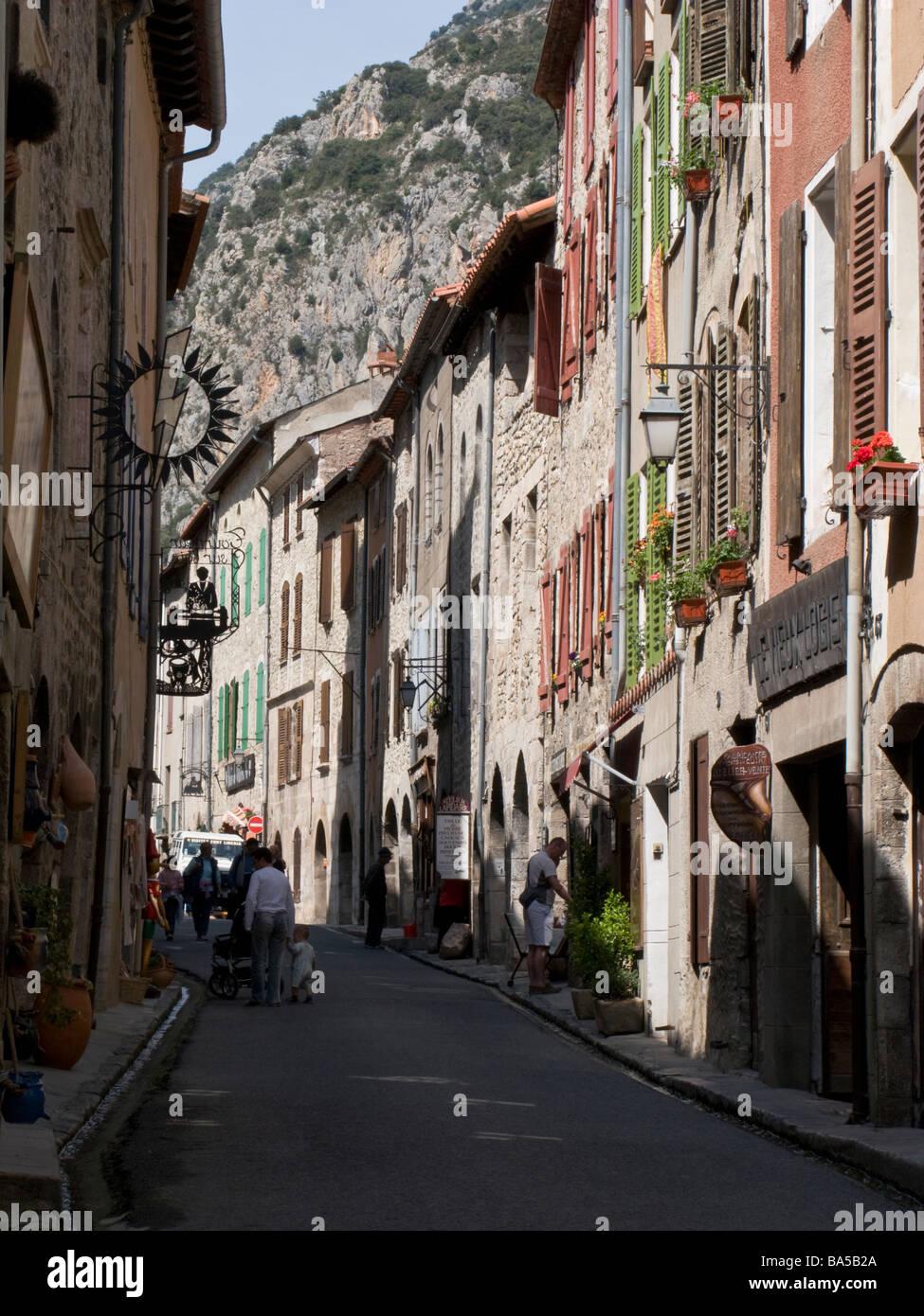 Villefranche-de-Conflent - Stock Image