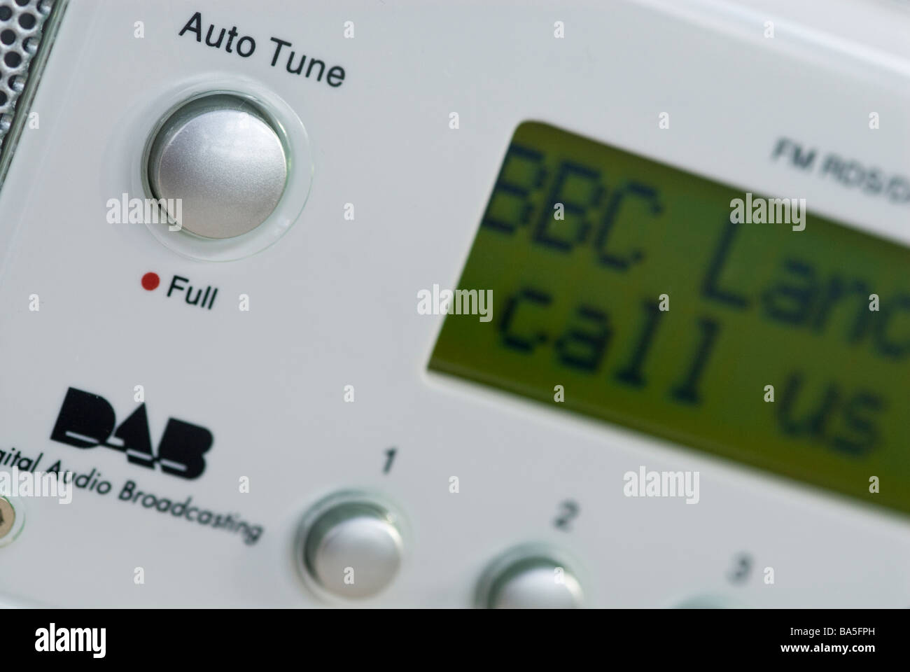 Digital Radio Phone In - Stock Image