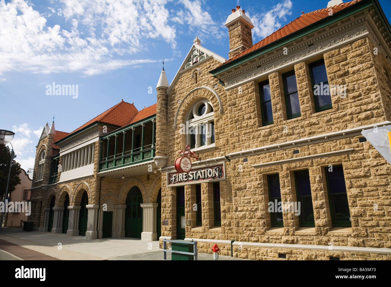 Fire Safety and Education Museum in the old Perth Fire Station.  Perth, Western Australia, AUSTRALIA - Stock Image