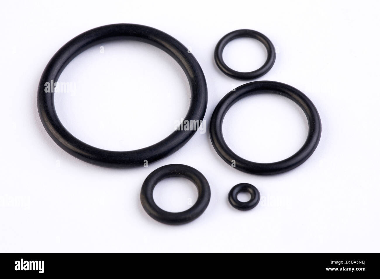 rubber O-rings Stock Photo: 23483562 - Alamy