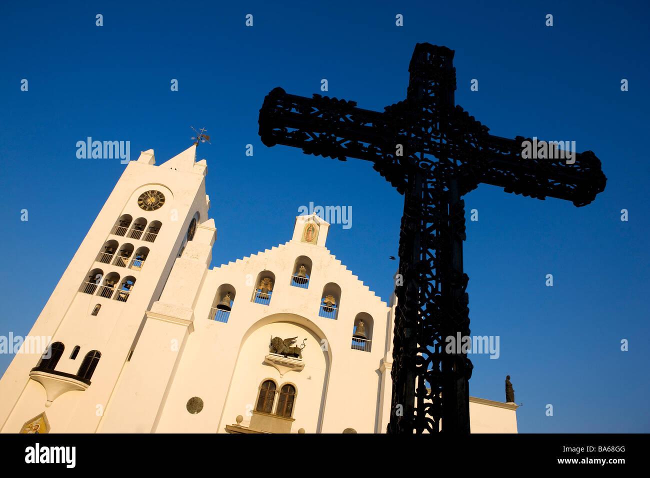 Mexico, state of Chiapas, Tuxtla Gutiérrez, the cathedral - Stock Image