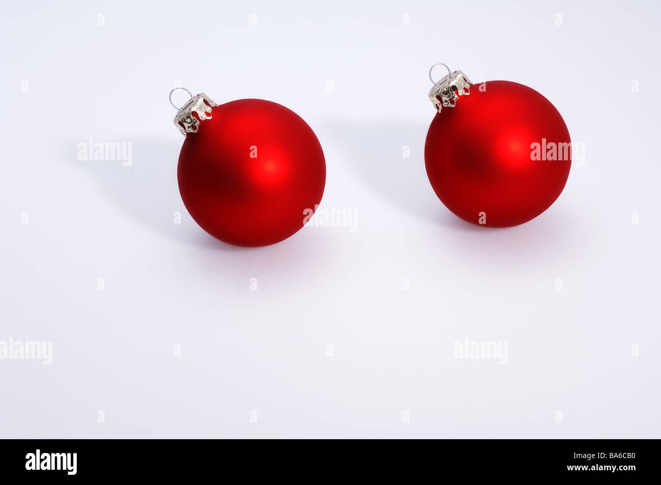 Christmas Christian Tree Balls Red Balls Glass Stock Photos ...