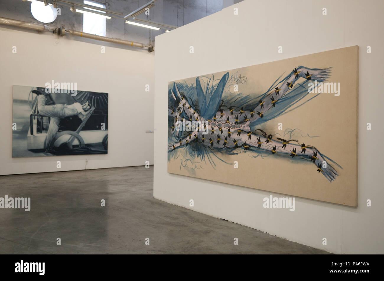 Art Gallery at Moganshan Shanghai China 2009 - Stock Image