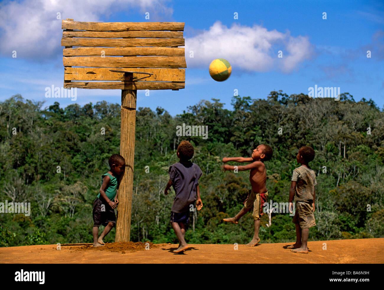 Papua New Guinea, Southern Highlands Province, Bosavi region, Suguniga, Kaluli Tribe, Uluye Wilie, Timon Sebo, Welo - Stock Image