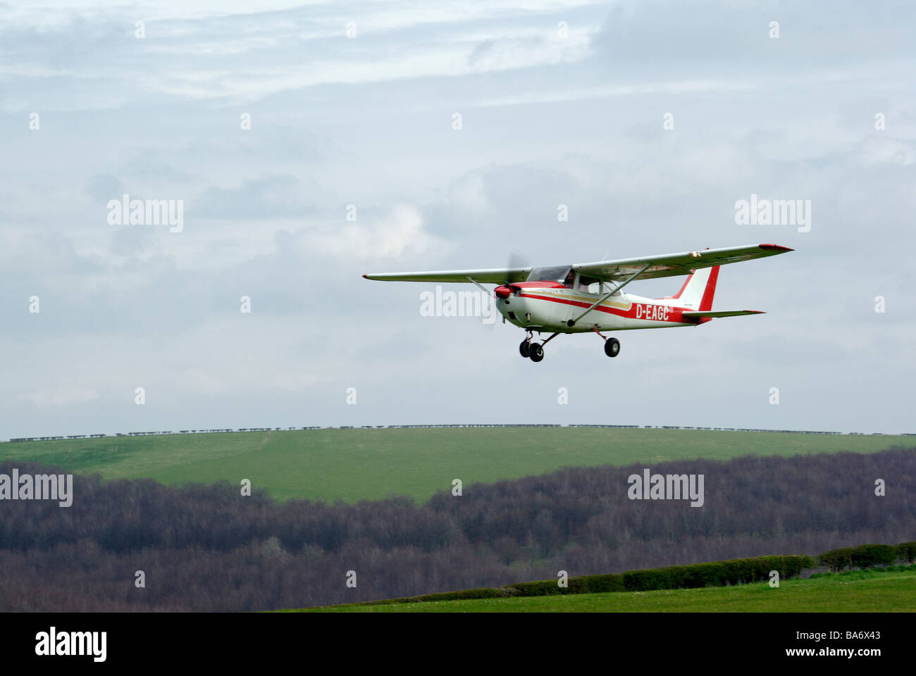 Cessna F172H - Stock Image