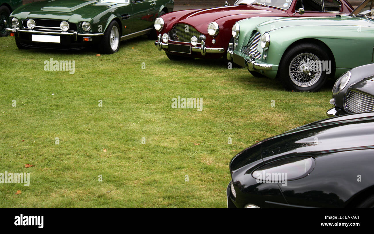 Luxury cars - Stock Image