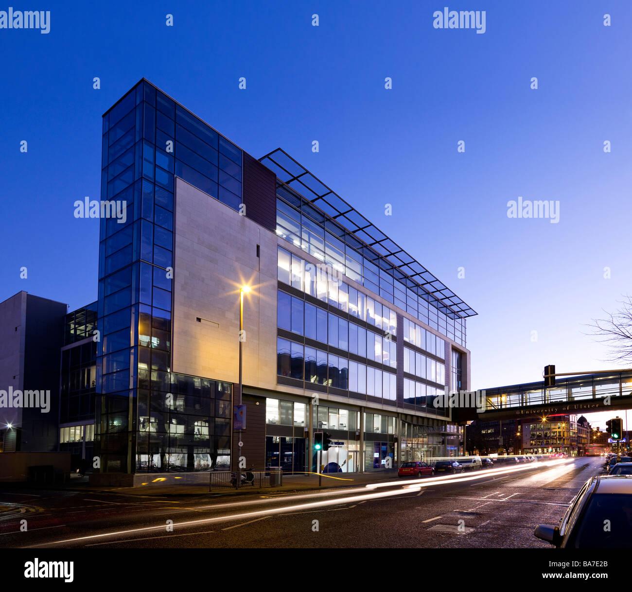 University of Ulster Belfast Northern Ireland - Stock Image